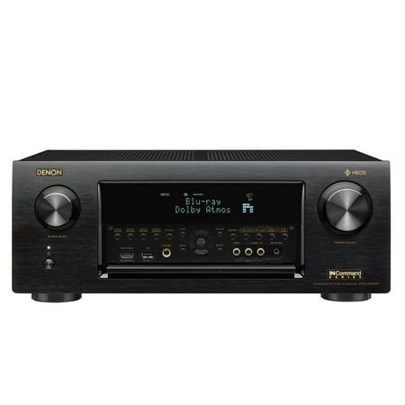 - Denon AVR-X6400H 11.2 Channel Full 4K Ultra HD Network AV Receiver with HEOS