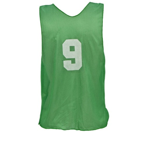 Champion Sports Numbered Scrimmage Vests for Adults, Gree...
