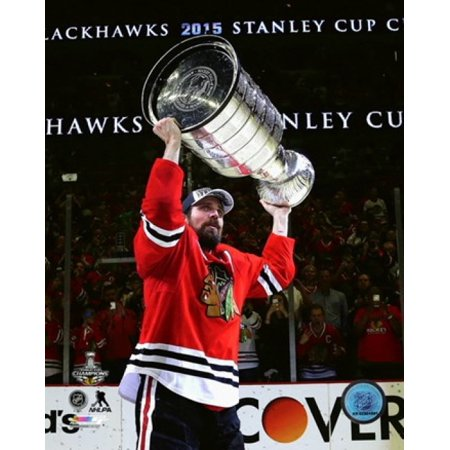 Patrick Sharp with the Stanley Cup Game 6 of the 2015 Stanley Cup Finals Sports Photo](Patrick Games)