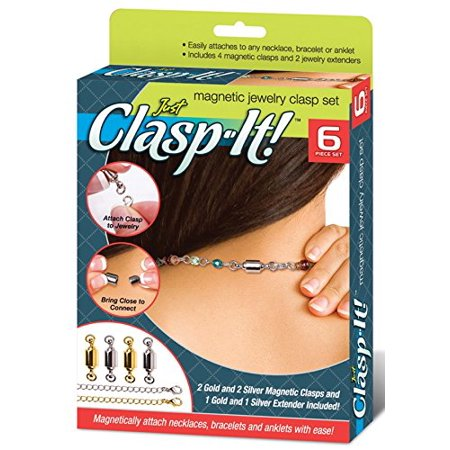 Just Clasp-It ! Magnetic Jewelry - Magnetic Clasps For Jewelry