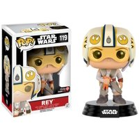 Funko POP! Star Wars Rey Vinyl Bobble Head [X-Wing Helmet]