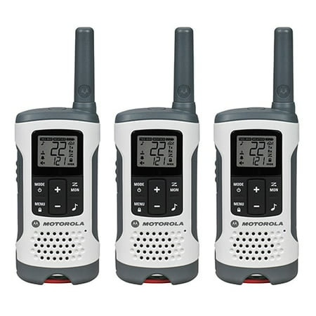 Motorola Talkabout T260 FRS/GMRS 2-Way Radios - 3 Pack