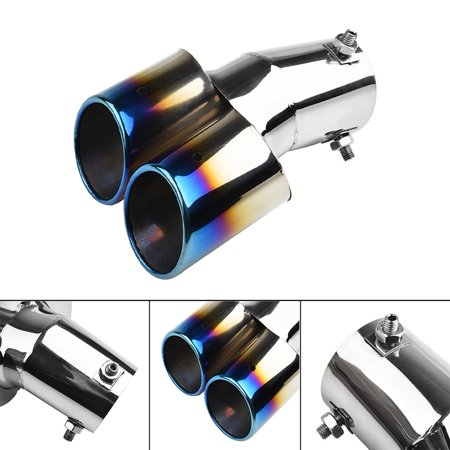 Polished Stainless Steel Car Suv Exhaust Pipe Tip Tail Muffler Cover Car Styling Walmart Canada