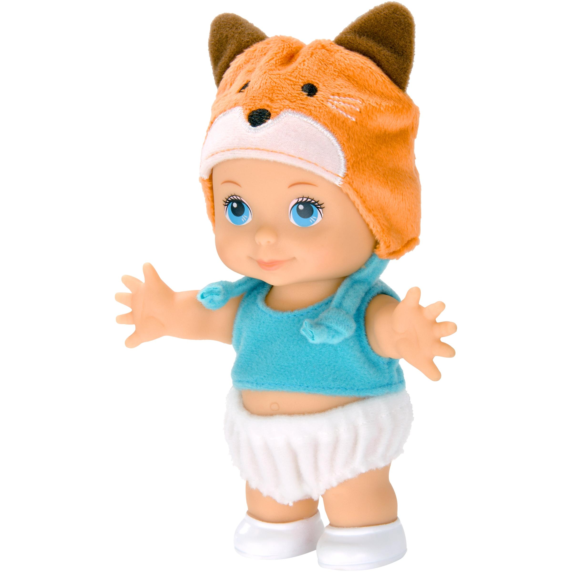 "My Sweet Love 5.5"" Animal Friends Mini Baby Doll with Fox Hat"