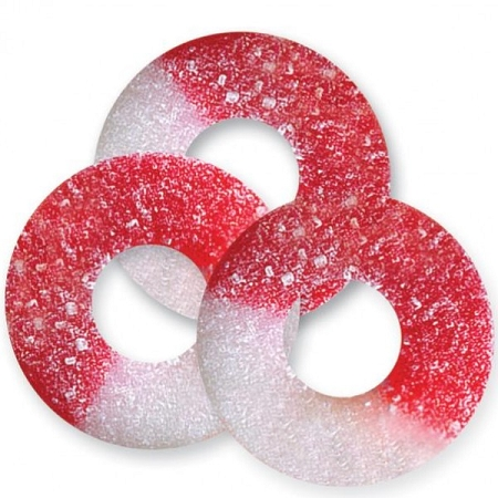 Albanese Gummy Cherry Rings, 4.5 Pounds