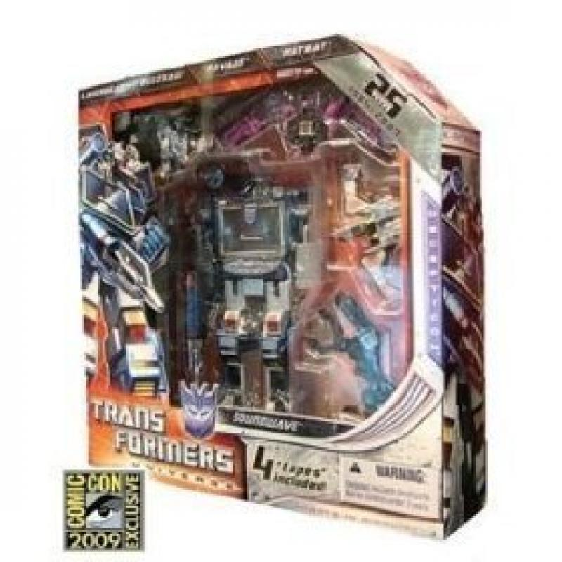 Transformers Universe 2009 SDCC San Diego Comic-Con Exclusive 25th Anniversary Figure Soundwave by Hasbro