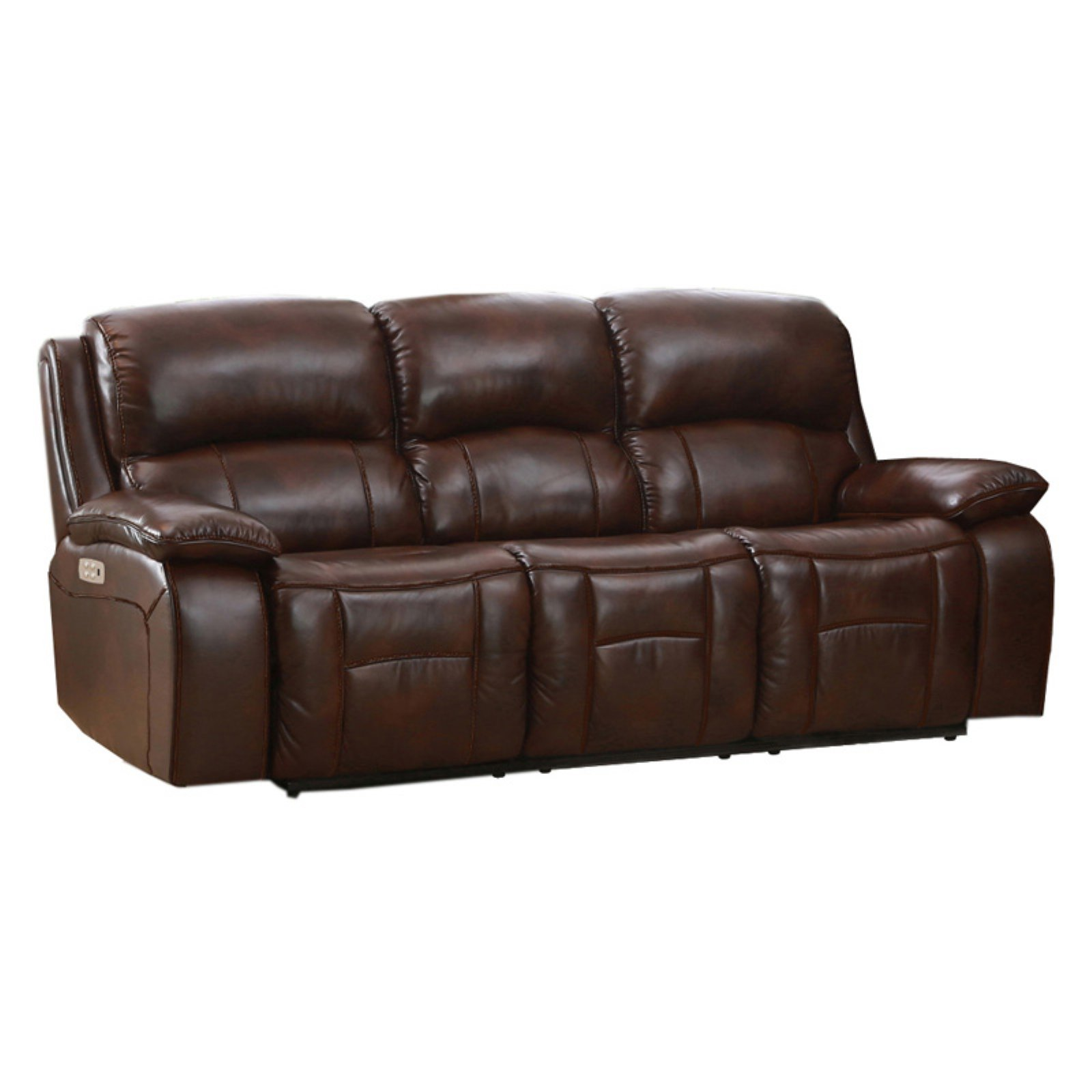Amax Leather Westminster II Top Grain Leather Power Reclining Sofa