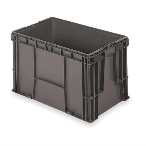 Buckhorn 100 lb Capacity, Wall Container, Gray SW2415150206000