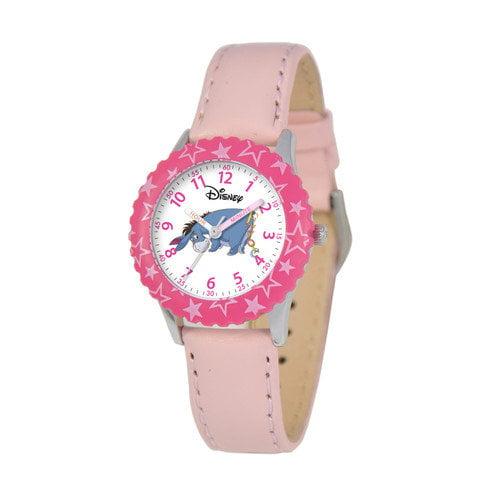 Disney Watches Kid's Eeyore Time Teacher Watch in Pink