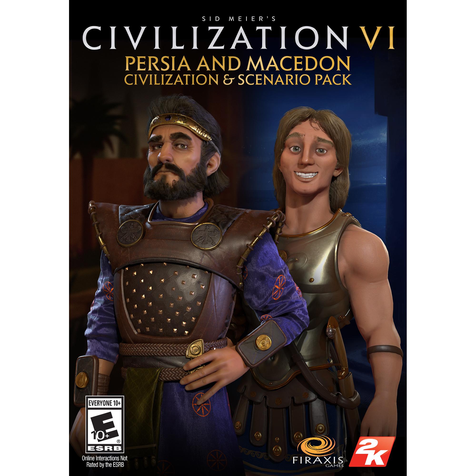 Sid Meier's Civilization VI – Persia and Macedon Civilization & Scenario  Pack (PC)(Digital Download)