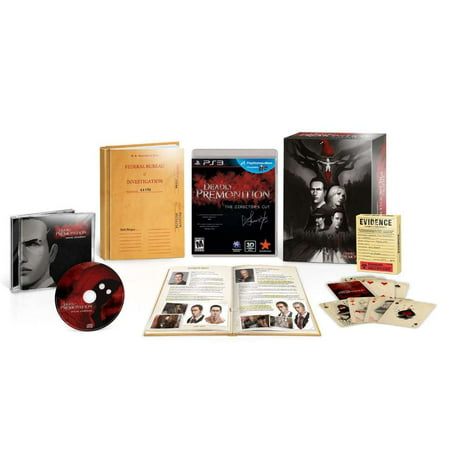 Deadly Premonition Directors Cut Collectors Classified Edition PS3 - Halloween 3 Collectors Edition