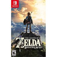 Deals on The Legend of Zelda: Breath Of The Wild Nintendo Switch