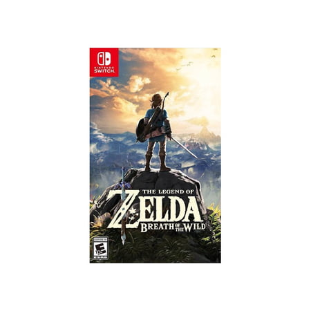 The Legend Of Zelda Breath Of The Wild Nintendo Nintendo Switch 045496590420