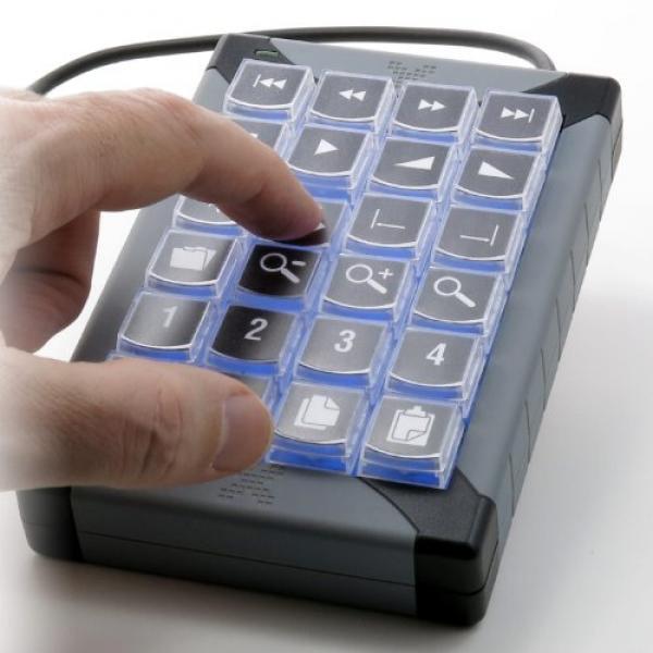 Pi Engineering XK-24 USB Programmable Keypadfor Windows or Mac