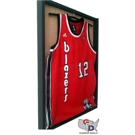 Sports Jersey Display Case Frame with Wood Backing and Hanger by GameDay  Display - Walmart.com ac1e0b3a3