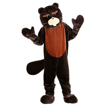 Adult Mascot Costumes (Beaver Mascot Costume Set - Adult (one size fits)