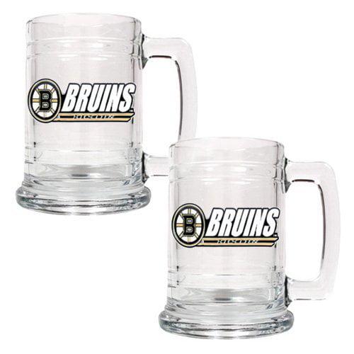 NHL - New Jersey Devils 2pc. 15oz. Glass Tankard Set
