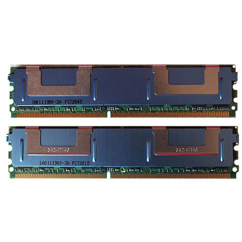 8gb (4x2gb) ram memory compatible dell poweredge 2950 iii ddr2 fully buff compatible server only by cms b119