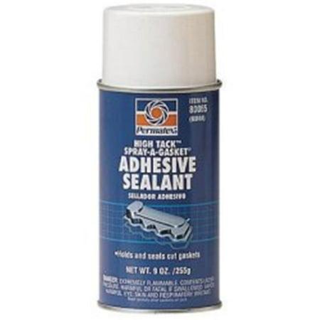 4000t High Tack - Permatex PTX80065-CAN 12 oz Aerosol Can High Tack Spray A Gasket Sealant