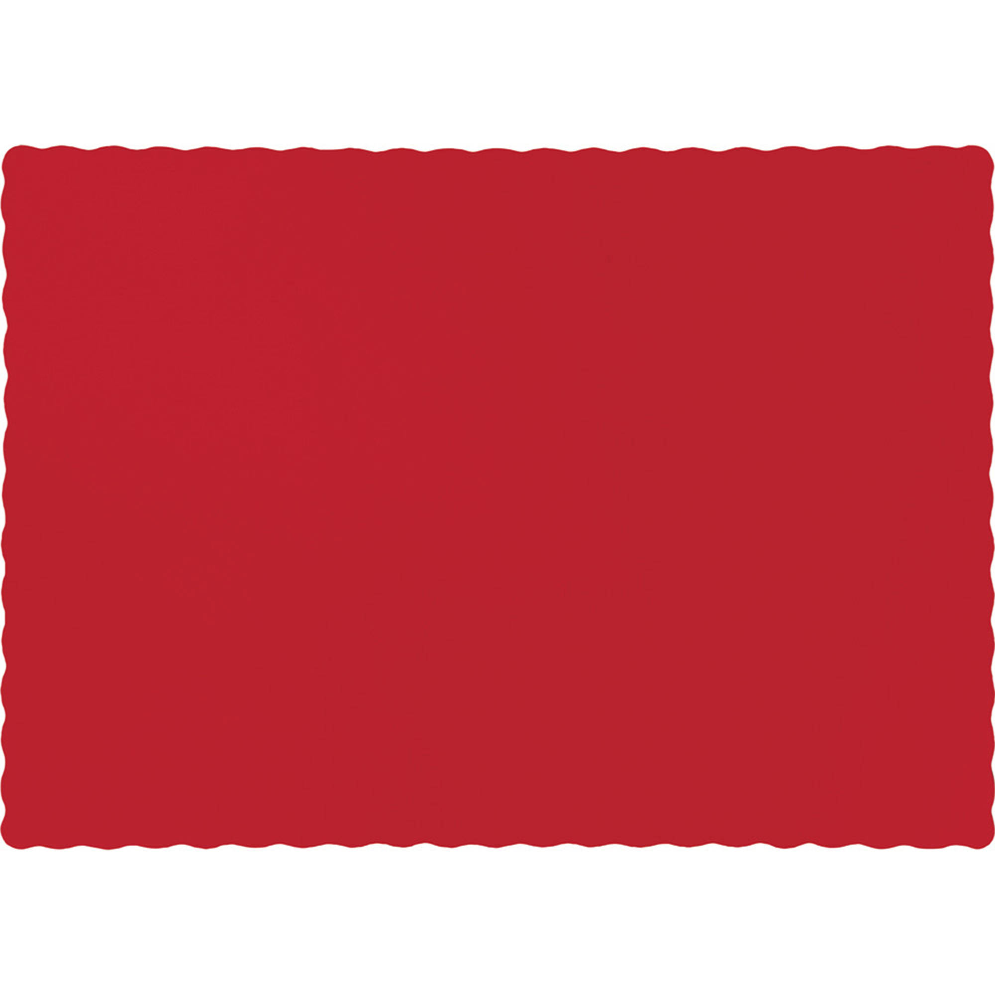 Classic Red Placemats, 50-Pack by CREATIVE CONVERTING