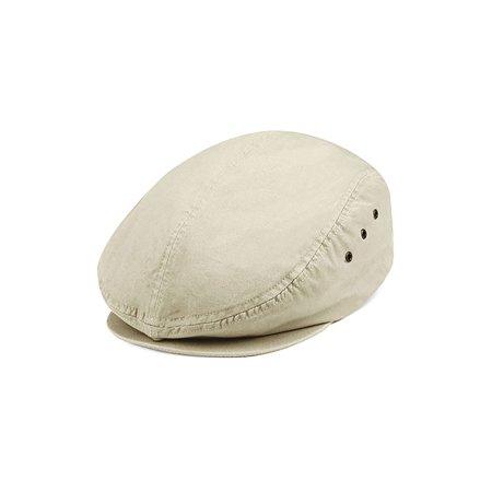 Ivy Washed Canvas Newsboy Hat -