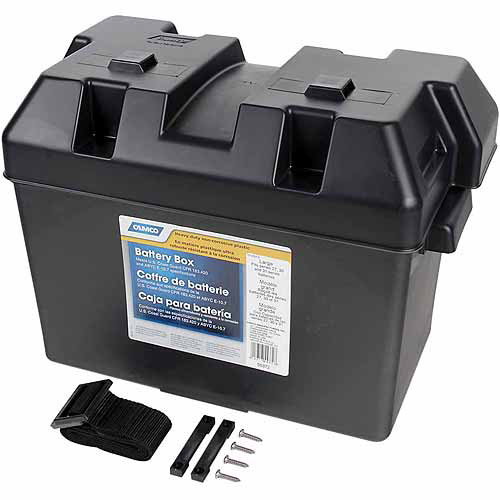 Camco Rv Large Battery Box Walmart Com