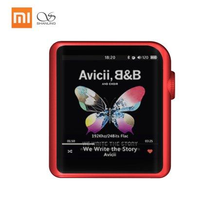 Xiaomi Shanling M0 32bit 384kHz AptX LDAC DSD MP3 FALC Portable Music Player Hi-Res Audio 1.54Inch Touch Screen Support Bluetooth Wireless (Xiaomi Bluetooth 4-1 Round Music Alarm Clock)
