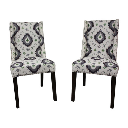 HD Couture Palace Parsons Upholstered Dining Chair (Set of 2)