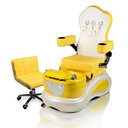 Astonishing Kids Pedicure Chair Yellow Best Friend Childs Pedicure Spa Nail Salon Furniture Equipment Creativecarmelina Interior Chair Design Creativecarmelinacom