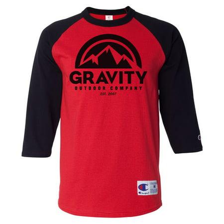 Gravity Outdoor Co. Mens Raglan T-Shirt Supply Co Raglan