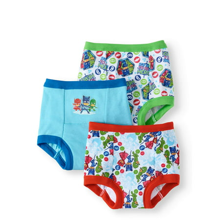 PJ Masks Potty Training Pants Underwear, 3-Pack (Toddler Boys)