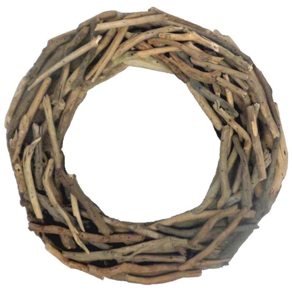 Stetson Driftwood Wreath 15 Inch Outside Diameter