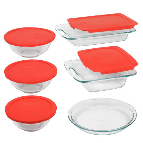 Pyrex 11-Piece Easy Grab Bake and Store Set