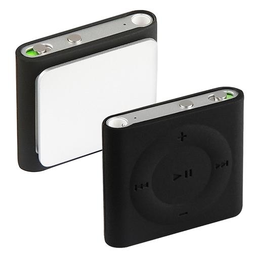 Insten Black Rubber Soft Silicone Case Skin For Apple iPod shuffle 4 4G 4th Gen