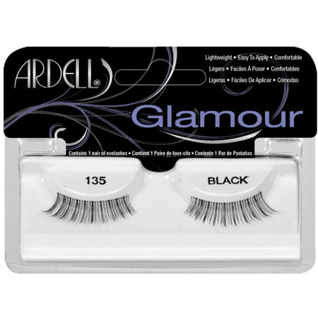 fd2c102be40 6 Pack - Ardell Fashion Lashes - Natural Lashes [135] Black 1 Pair -  Walmart.com