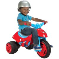 Marvel Ultimate Spider-Man 6V Battery-Powered Red Tricycle, by Huffy