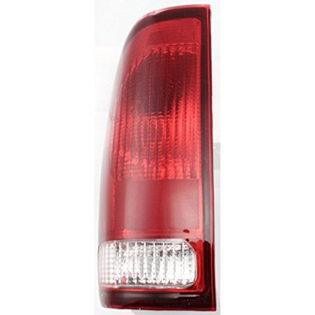 driver side tail light for 1997-2007 ford f-series f-150 f-250 f-350 with  lens and housing styleside - walmart com