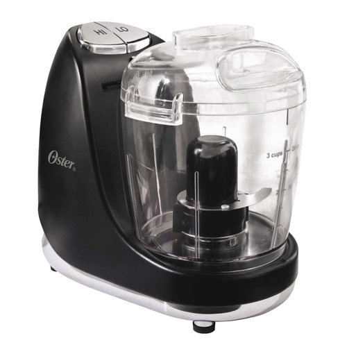 Oster 3-Cup Mini Chopper, Black