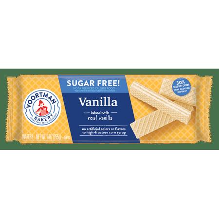 Voortman Sugar Free Vanilla Wafers - 9oz