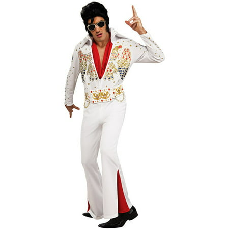 Elvis Deluxe Adult Halloween - Elvis Presley Halloween Costume For Infants