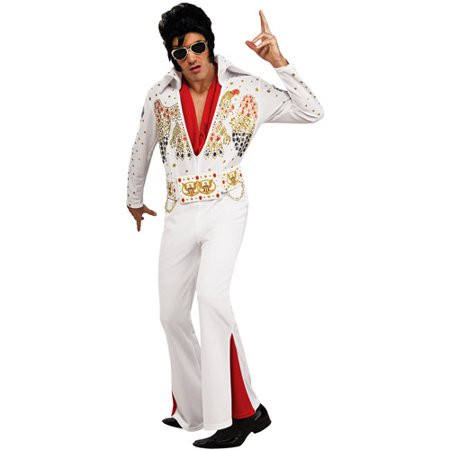 Elvis Deluxe Adult Halloween Costume - Light Up Halloween Costumes For Adults
