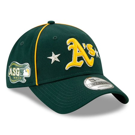 Oakland Athletics New Era 2019 MLB All-Star Game 9TWENTY Adjustable Hat - Green - (Best Mtb Helmet Light 2019)
