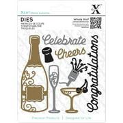 Xcut Decorative Dies 10/Pkg-Champagne Celebration