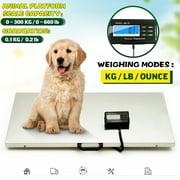 Digital Livestock Vet Scale Postal Scale Stainless Steel Scales Large Platform Vet Scale