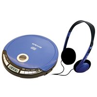 Craig Portable CD Player with Headphones and LCD Screen