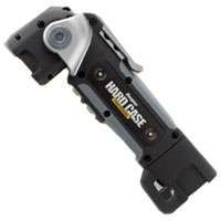 Hard Case Professional TUFSW21PE Compact Project Swivel Flashlight, 1.5 V, Cree XRE LED, 2 hr