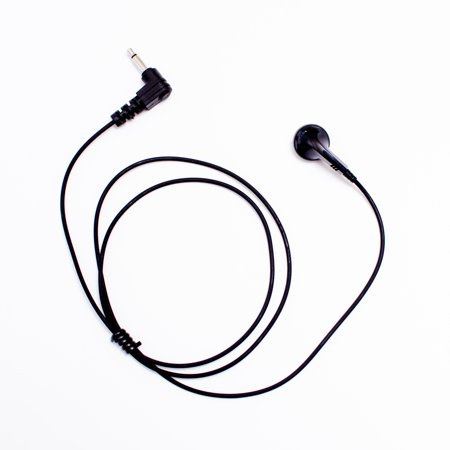 maxtop arp01-35l regular earbud receiving only earphone with 3.5mm plug for speaker microphone (Earbud Speaker)