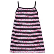 Lipstik Girls Black Pink Stripe Pattern Spaghetti Strap Top 8