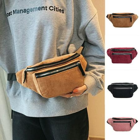 SUNSIOM Fashion Ladies Women Bum Bag Fanny Money Wallet Travel Holiday Waist Belt (Best 27 Monitor For The Money)
