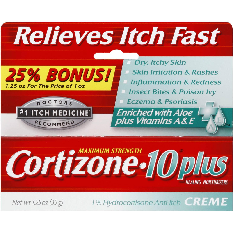 Cortizone-10 Plus Maximum Strength Anti-Itch Cream, 1.25 oz